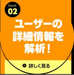 ポイント02:ユーザーの詳細情報を解析!